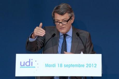Le 18 septembre, Jean-Louis Borloo annonce la création de l'UDI - Jacques Demarthon/AFP