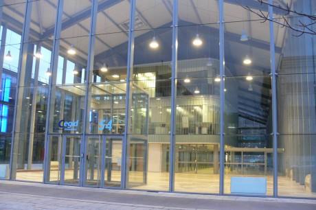 Le siège de la Cegid à Lyon - DR