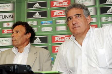 Roland Romeyer et Bernard Caïazzo, les dirigeants de l'ASSE - IconSport - DR