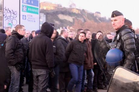 La dernière manifestation nationaliste à lyon s'était déroulée sous haute surveillance - LyonMag