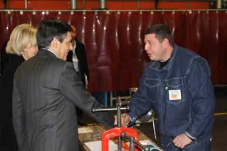 François Fillon salue les apprentis - LyonMag
