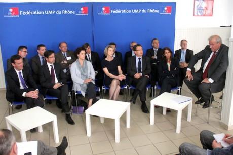 Les candidats des 14 circonscriptions du Rhône vendredi matin à la fédération UMP du Rhône - LyonMag