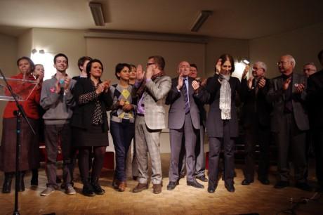 Les socialistes du Rhône unis jeudi soir à Lyon derrière la candidature de François Hollande - LyonMag