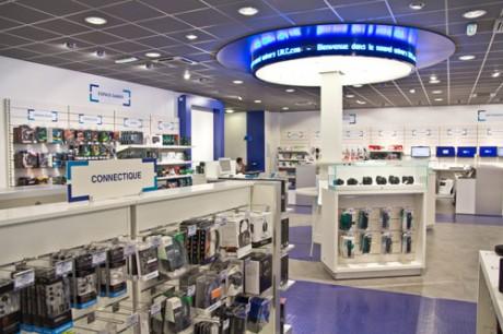 Le magasin LDLC de Vaise - DR