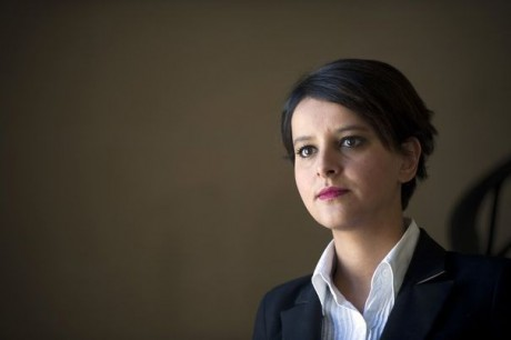 Najat Vallaud-Belkacem - Photo AFP/DR