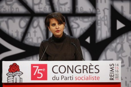 Najat Vallaud-Belkacem à Reims en 2009 - Photo DR