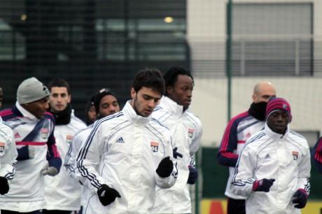 Grenier et Koné (au centre) pourraient être suspendus - LyonMag