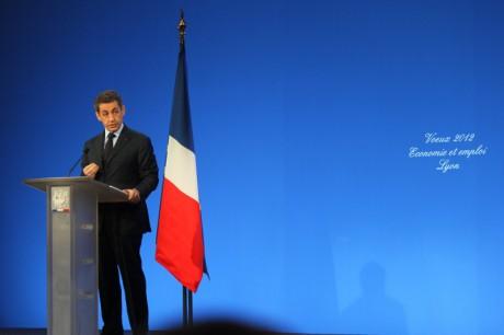 Nicolas Sarkozy à Lyon, le 19 janvier dernier - Photo Lyonmag.com