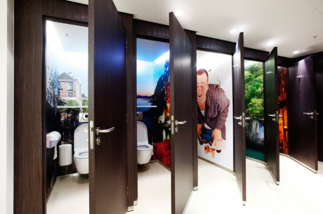 Un exemple de toilettes proposées par 2thello - DR