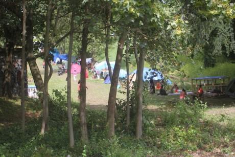 Nouveau camps de roms à Bron - Photo LyonMag
