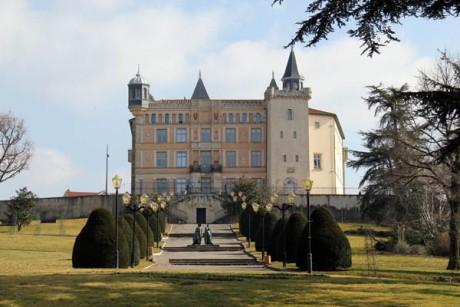 Le château de Saint-Priest - DR