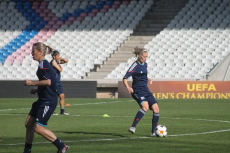 Lara Dickenmann devrait revenir à la compétition avant les 8e de finale - LyonMag