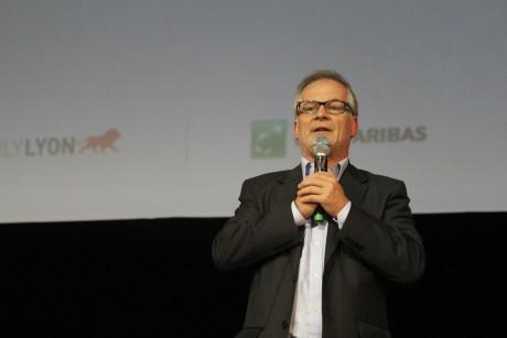 Thierry Frémaux lors du Festival Lumière 2011 - Photo Lyonmag