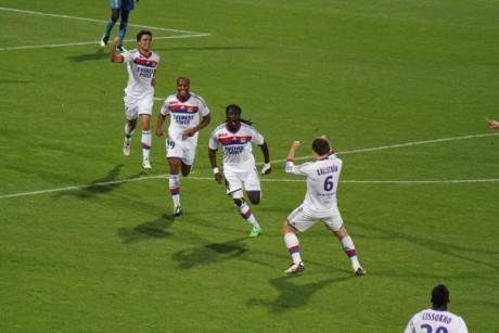 Gomis n'avait plus marqué depuis 10 matches... Photo LyonMag