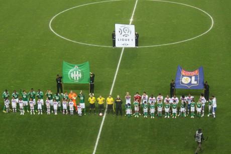Le dernier derby à Geoffroy Guichard s'était soldé par une victoire lyonnaise (0-1, but de Gomis) - Photo LyonMag