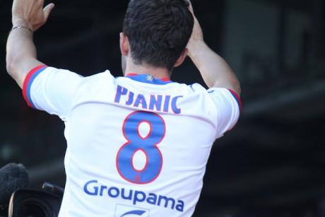 Pjanic dit adieu à l'OL - DR