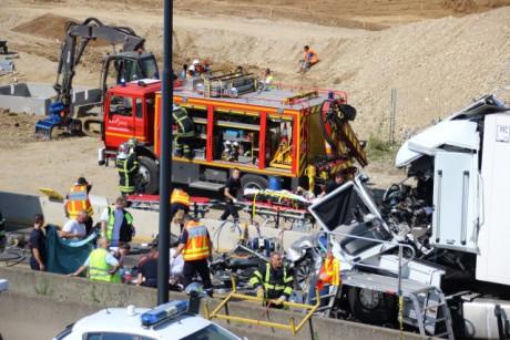 L'accident de la rocade est survenu le 24 juillet - Photo LyonMag