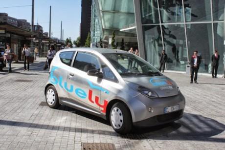 Une Bluecar, à retrouver prochainement dans les rues de Lyon - LyonMag