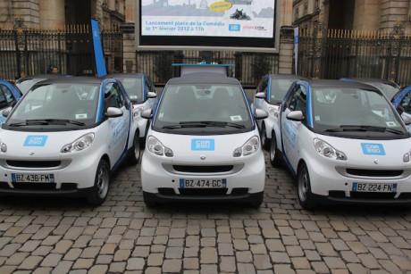 Les Car2go vont-ils réapparaître dans les rues lyonnaises ? - DR