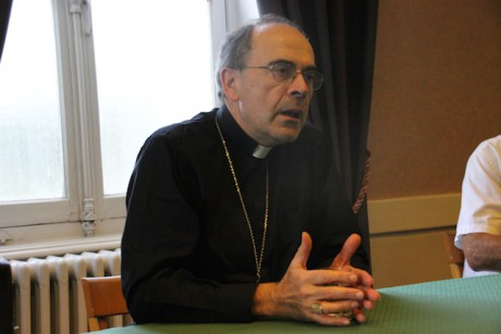 Le cardinal Barbarin - Photo LyonMag