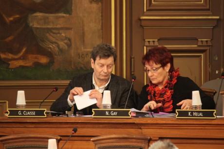 Gérard Claisse et Nicole Gay - LyonMag