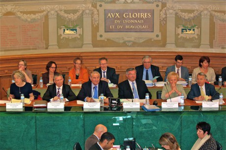 Une séance du Conseil Général du Rhône - Photo Lyonmag.com