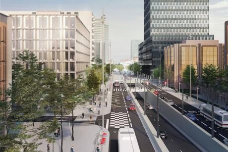 Le futur boulevard Vivier-Merle - DR SPL Lyon Part-Dieu
