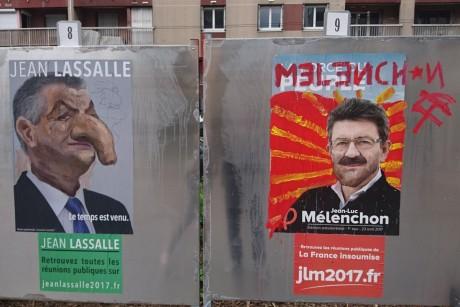 Jean Lassalle et Jean-Luc Mélenchon - DR
