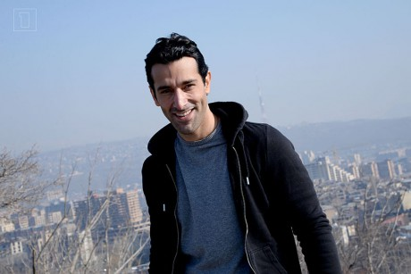 Essaï Altournian originaire de l'Isère représentait l'Arménie à l'Eurovision - DR