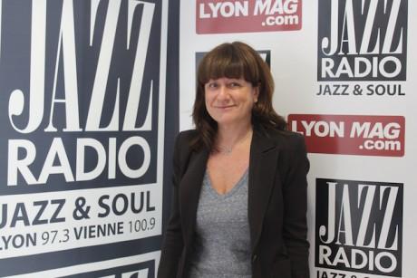 Fabienne Lévy, en janvier dernier sur Lyonmag.com - Photo Lyonmag.com