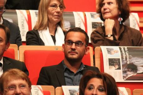 Jean-Christophe Galeazzi, ici à la remise du Prix Lumière à Gérard Depardieu en 2011 - Lyonmag