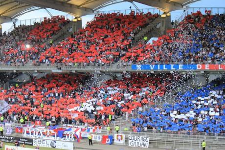 Le public de l'OL au Stade de Gerland - Photo Lyonmag.com/DR