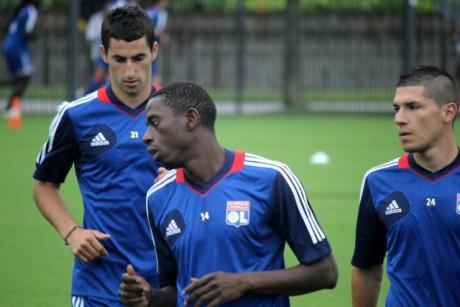 Maxime Gonalons (à g.), l'avenir de Lyon... et de l'équipe de France ? (Crédit : LyonMag)