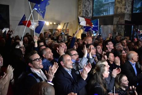 Le camp En Marche ! lors de l'élection présidentielle - LyonMag