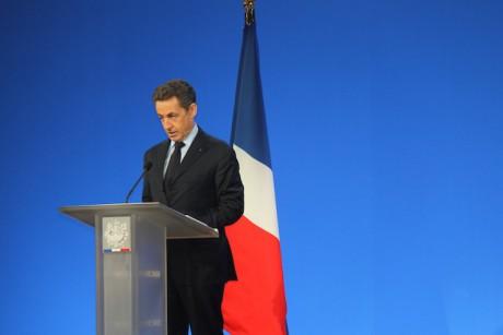 Nicolas Sarkozy lors de son dernier passage à Lyon, déjà à Eurexpo, pour ses voeurs aux acteurs du monde économique - LyonMag