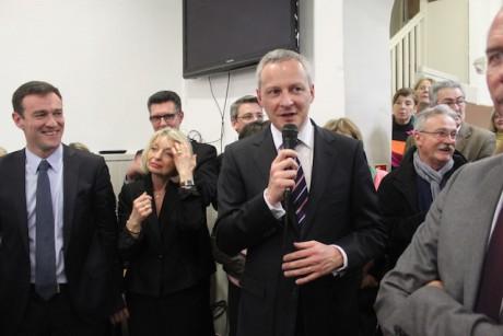 Bruno Le Maire jeudi soir à la fédération UMP du Rhône - LyonMag