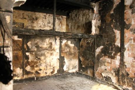 L'intérieur de l'appartement brûlé, au 9 rue Dumenge - Lyonmag
