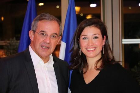 Thierry Mariani et Agnès Marion - LyonMag