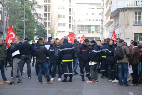 Une manifestation très encadrée - LyonMag.com