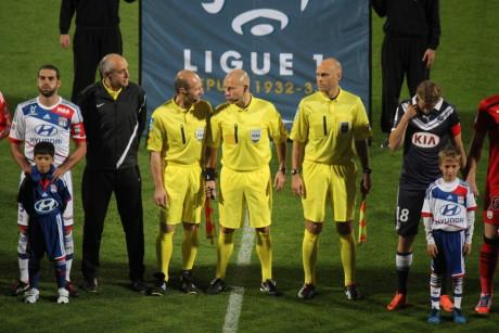 Christophe Capelli (à gauche), un drôle de choix de la part de la Direction Nationale d'Arbitrage - LyonMag