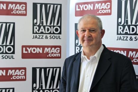 Jacky Darne dans les studios de Jazz Radio - JazzRadio