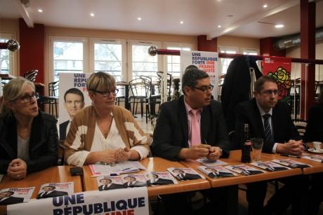 Une partie du comité de soutien de Manuel Valls dans le Rhône - LyonMag