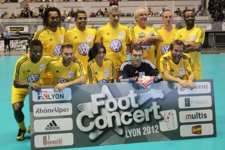 Le Foot Concert l'an dernier - LyonMag
