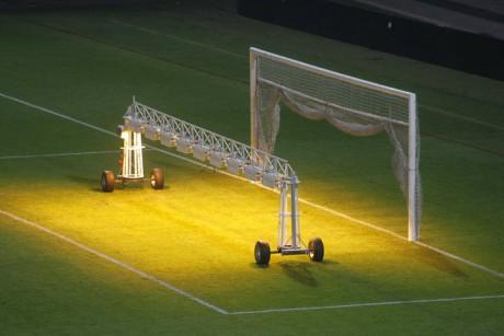 Les rampes d'éclairages photosynthétique - Photo LyonMag