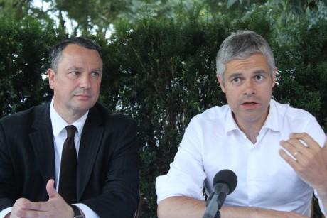 Franck Reynier et Laurent Wauquiez s'affichent à Lyon - LyonMag