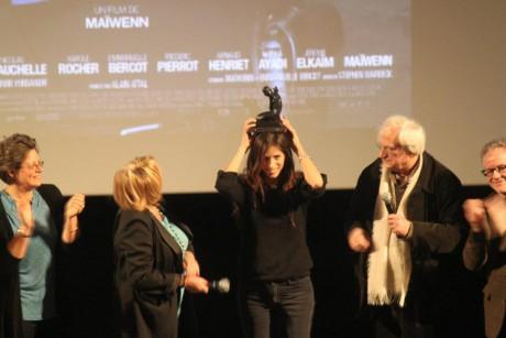 Maïwenn reçoit le 8e Prix Jacques Deray - Photo LyonMag