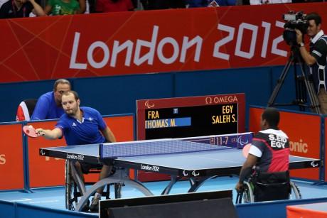 Maxime Thomas, l'un des représentants lyonnais à Rio aux Jeux Paralympiques - DR