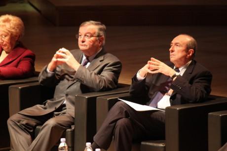 Michel Mercier et Gérard Collomb se sont félicités de la validation de la Métropole par les Sages - LyonMag