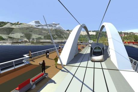 Le futur pont Raymond-Barre - DR