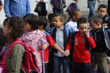 La rentrée des classes 2011-2012 à l'école Philibert Delorme à Lyon (8e) - Photo Lyonmag .com
